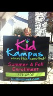Kid Kampus Summer and Fall Enrollment!