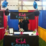 Principal Mickle & Mr Greg attending the All About Kids Expo 2013